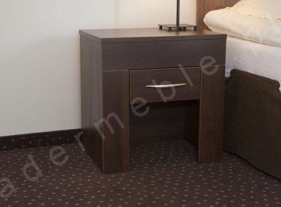 Meble hotelowe Ana, stolik nocny. Realizacja: Hotel A'PROPOS