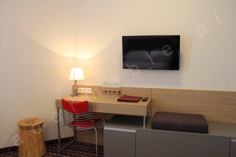 Meble hotelowe - system Megi, toaletka. Realizacja: Hotel Sasanka - Szklarska Poręba