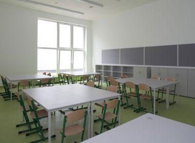 Meble szkolne sala lekcyjna