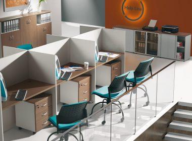 meble biurowe stanowiska pracy call-center