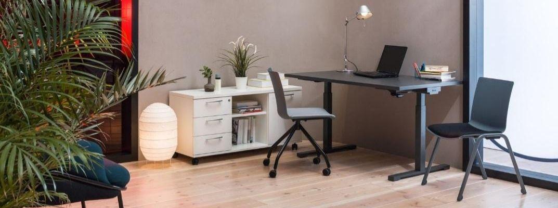 biurko sterowane elektrycznie
